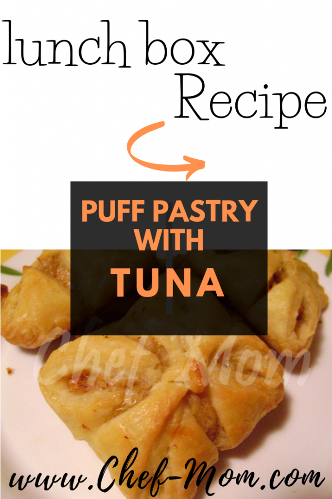 puff pastry with tuna